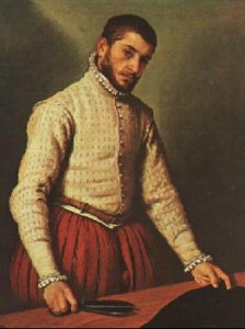 """The Tailor"" By Giovanni Battista Moroni"